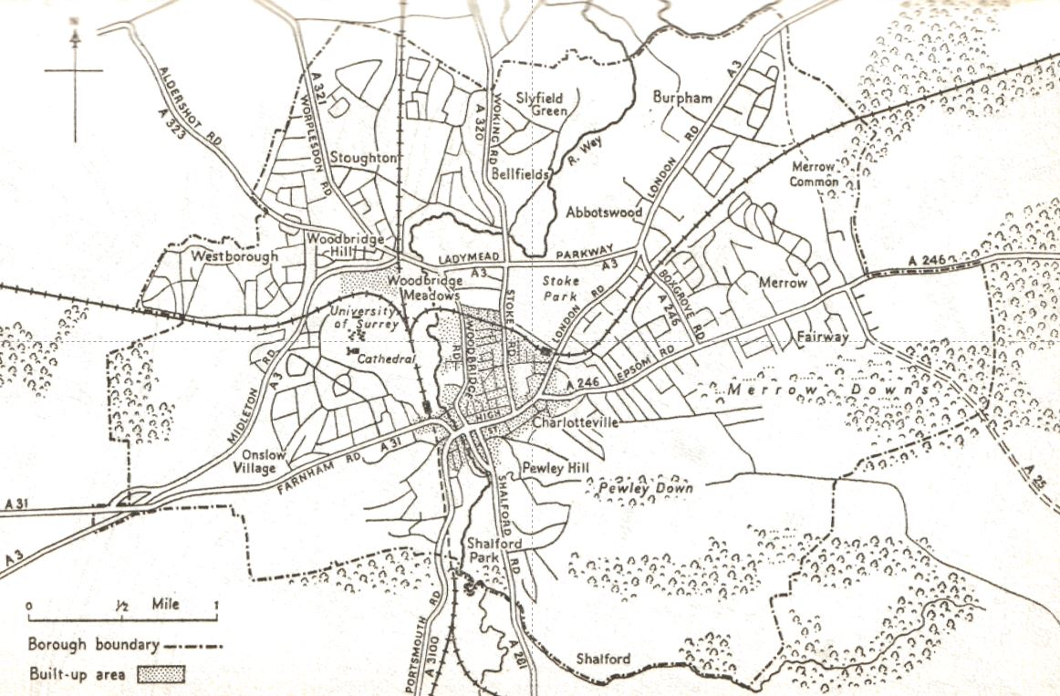 Guildford Master Map